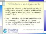 wssd government agreements