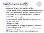 scale free networks sf3