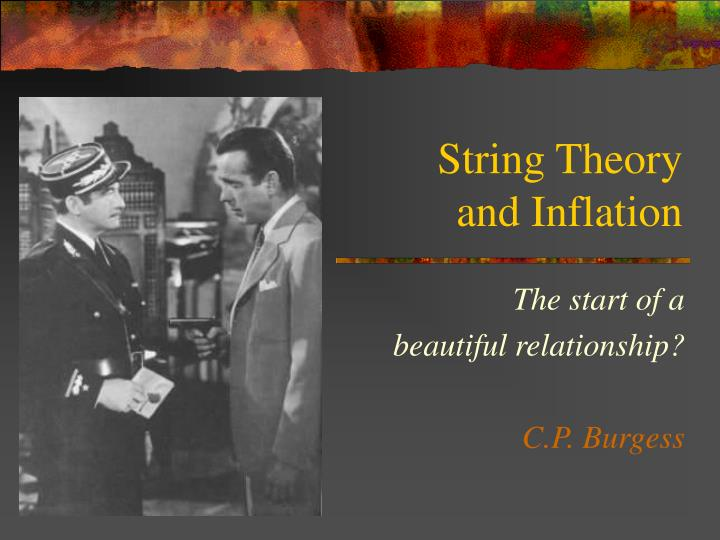 string theory and inflation n.
