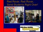 red rover red rover send students right over
