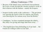 albany conference 1754