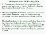 consequences of the ensuing war1