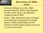 discovery of dna cont1