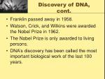 discovery of dna cont4