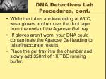 dna detectives lab procedures cont4