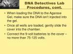 dna detectives lab procedures cont7