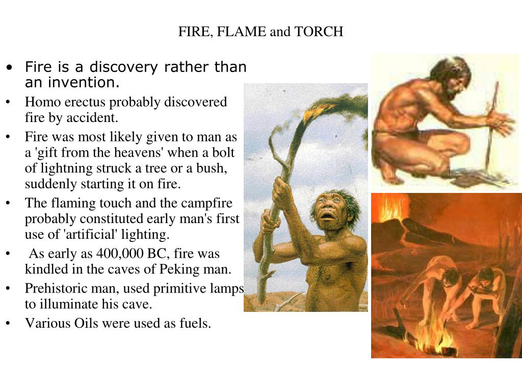 FIRE, FLAME and TORCH