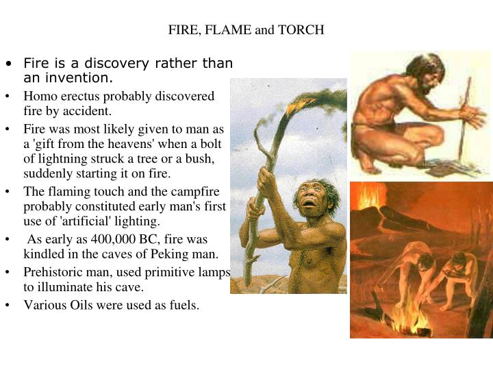 Fire flame and torch