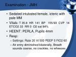 examination jmh