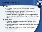 examination jmh1