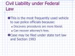 civil liability under federal law14