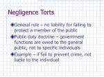 negligence torts10