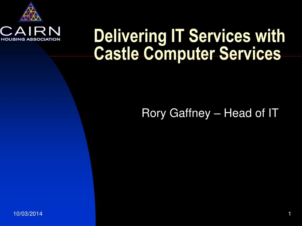 delivering it services with castle computer services l.