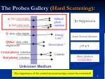 the probes gallery hard scattering