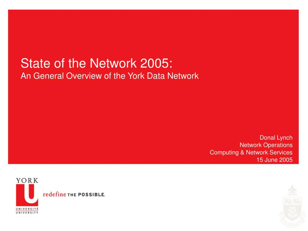 donal lynch network operations computing network services 15 june 2005 l.
