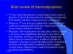brief review of thermodynamics12