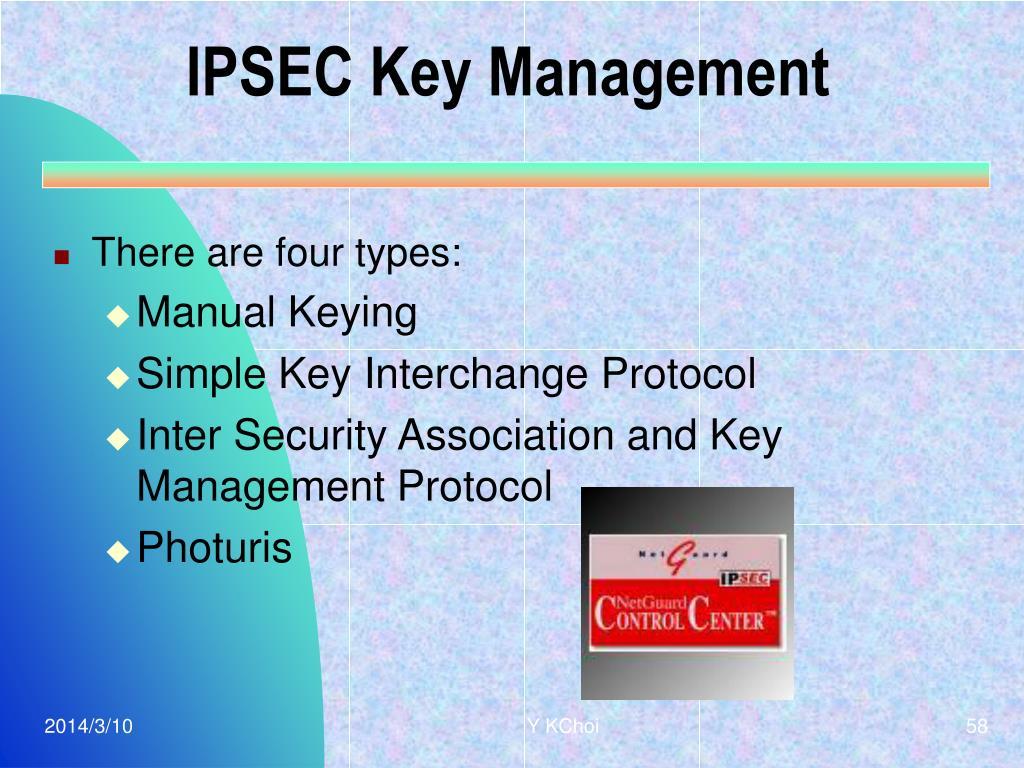IPSEC Key Management