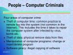 people computer criminals