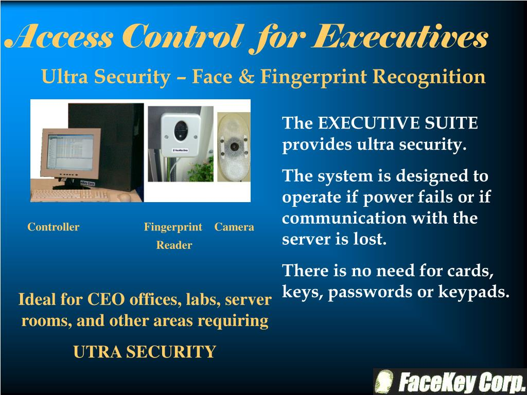 Ultra Security – Face & Fingerprint Recognition
