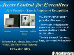 access control for executives