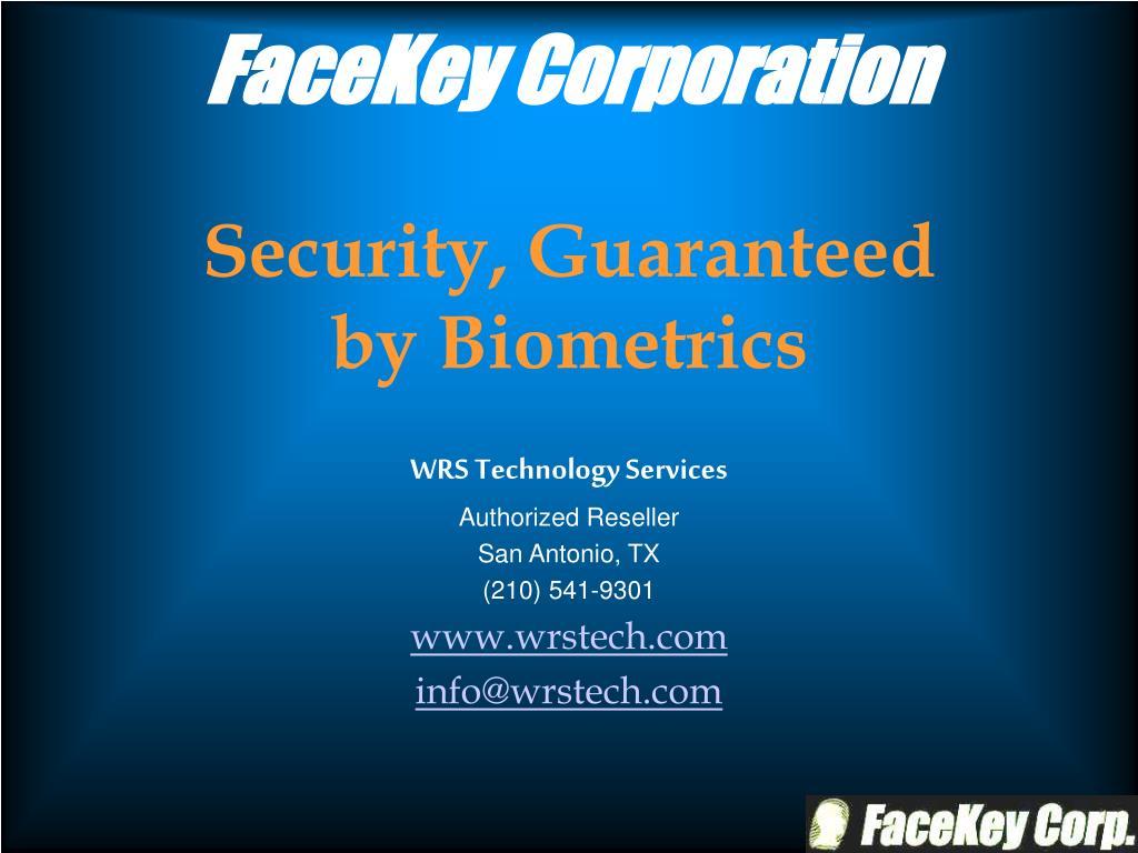 FaceKey Corporation