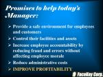 promises to help today s manager