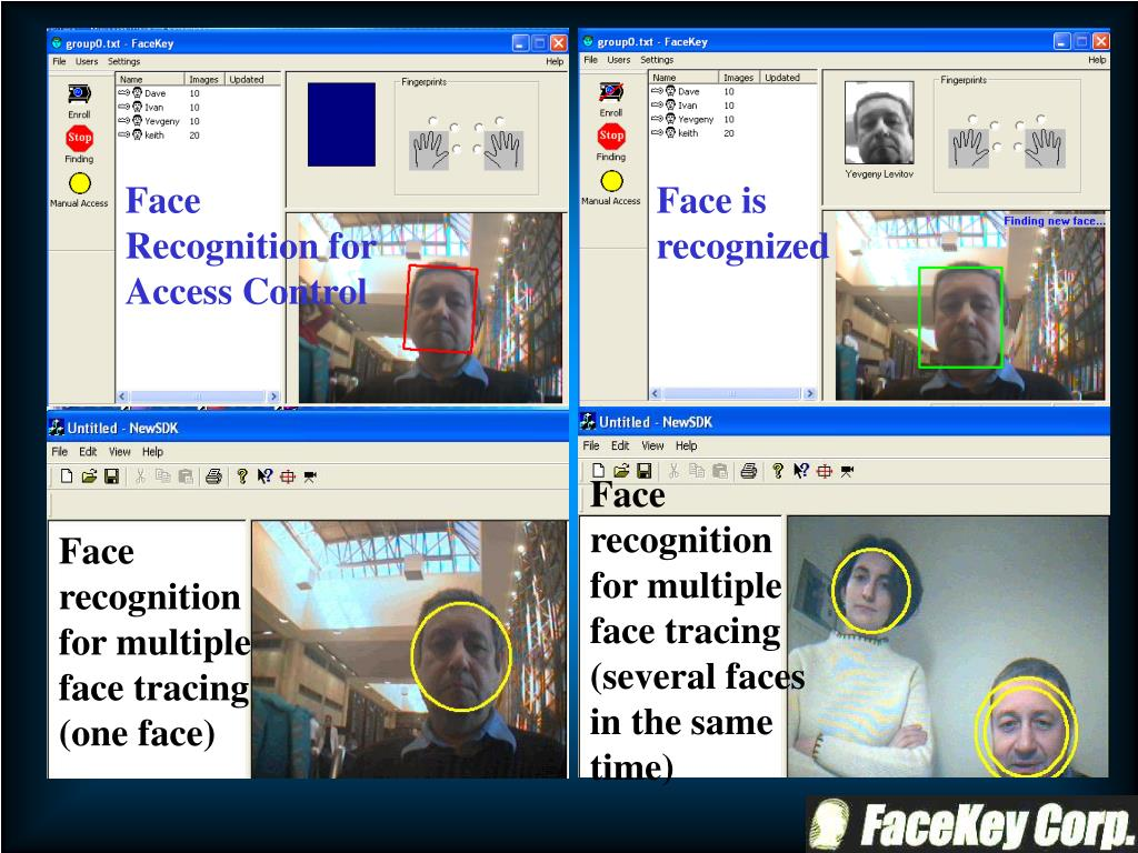 Face Recognition for Access Control