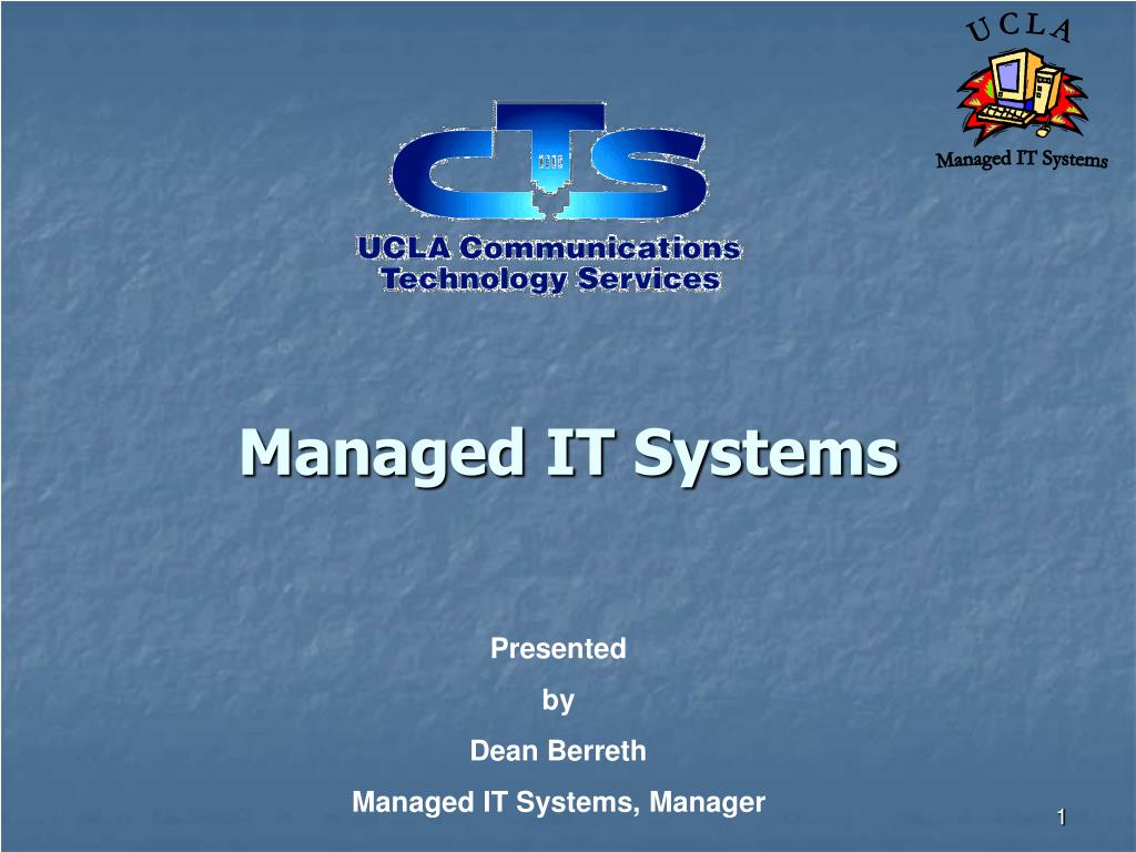 managed it systems l.
