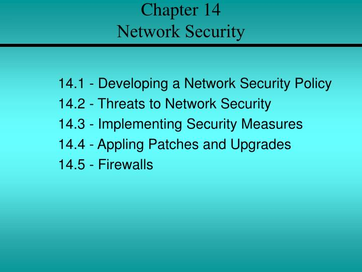 chapter 14 network security n.
