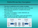 public private key encryption