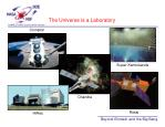 the universe is a laboratory