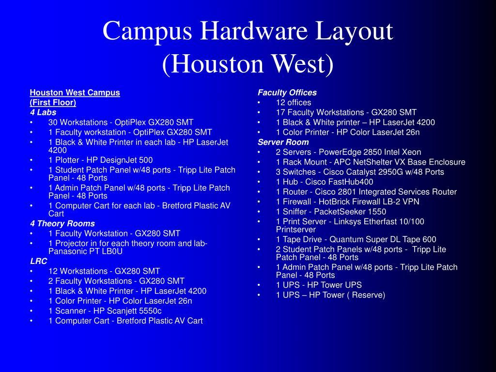 Houston West Campus