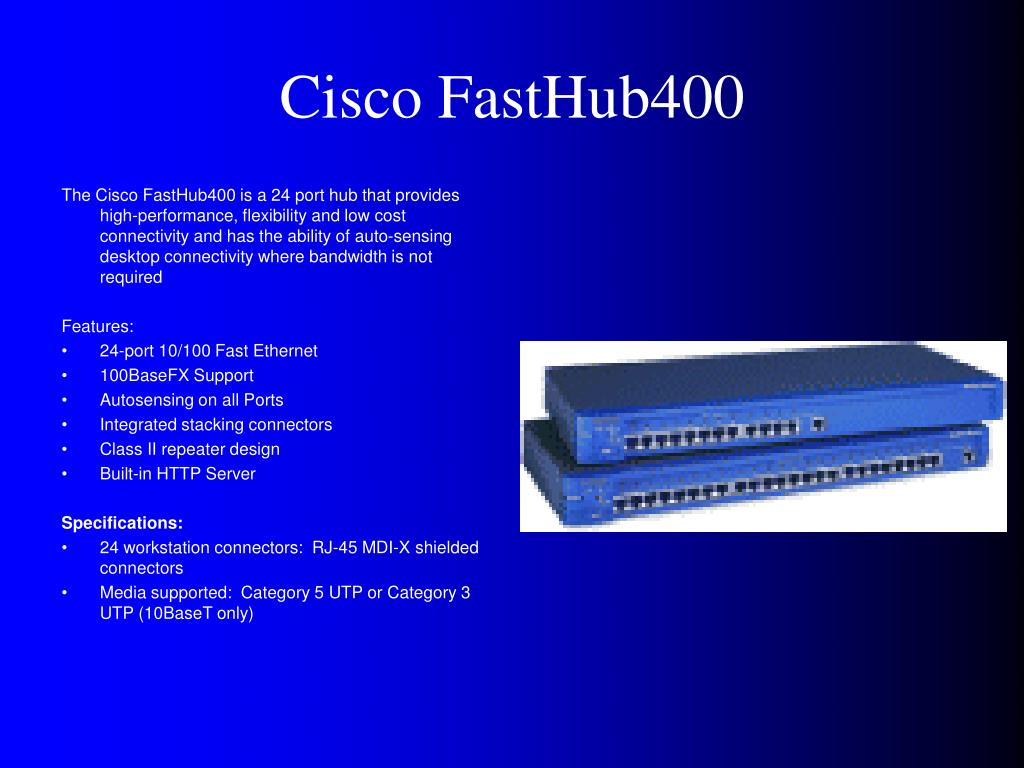 Cisco FastHub400