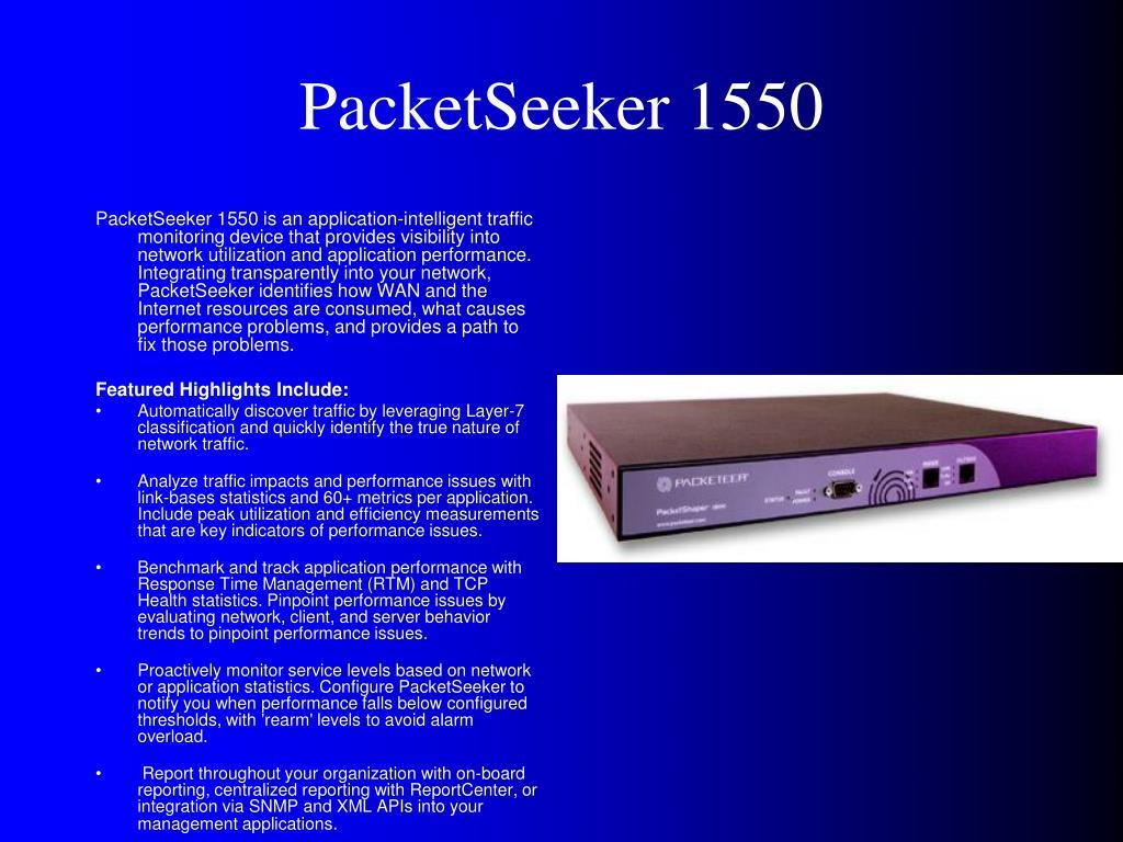 PacketSeeker 1550