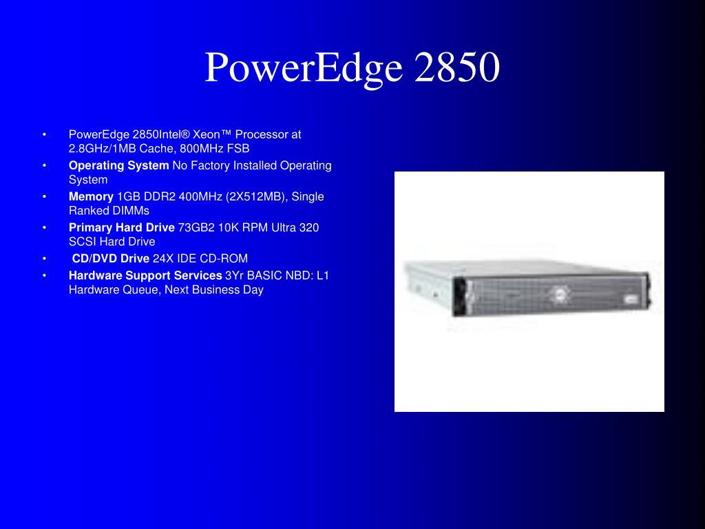 PowerEdge 2850