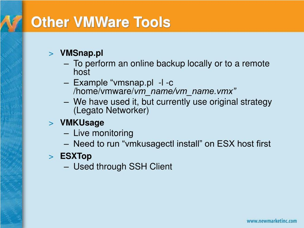 Other VMWare Tools