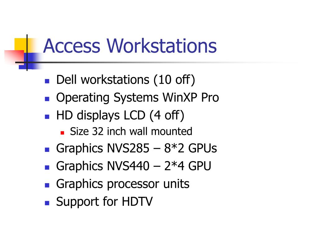Access Workstations