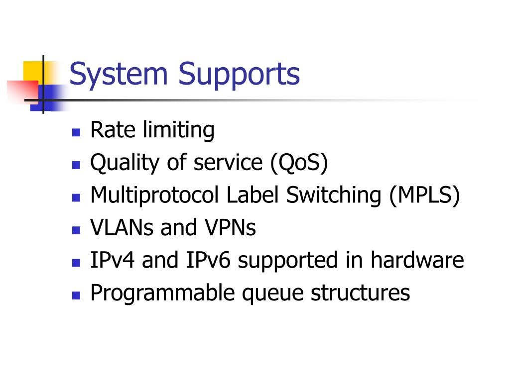 System Supports