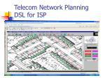 telecom network planning dsl for isp