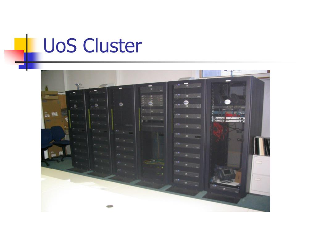 UoS Cluster