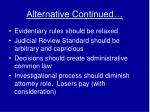 alternative continued9