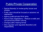 public private cooperation