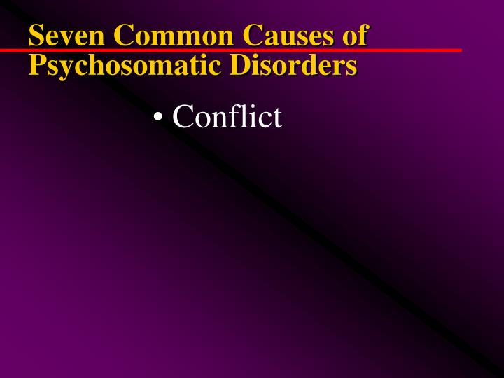Seven Common Causes of