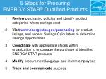 5 steps for procuring energy star qualified products