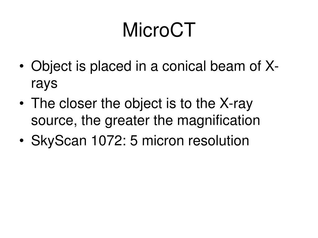 MicroCT