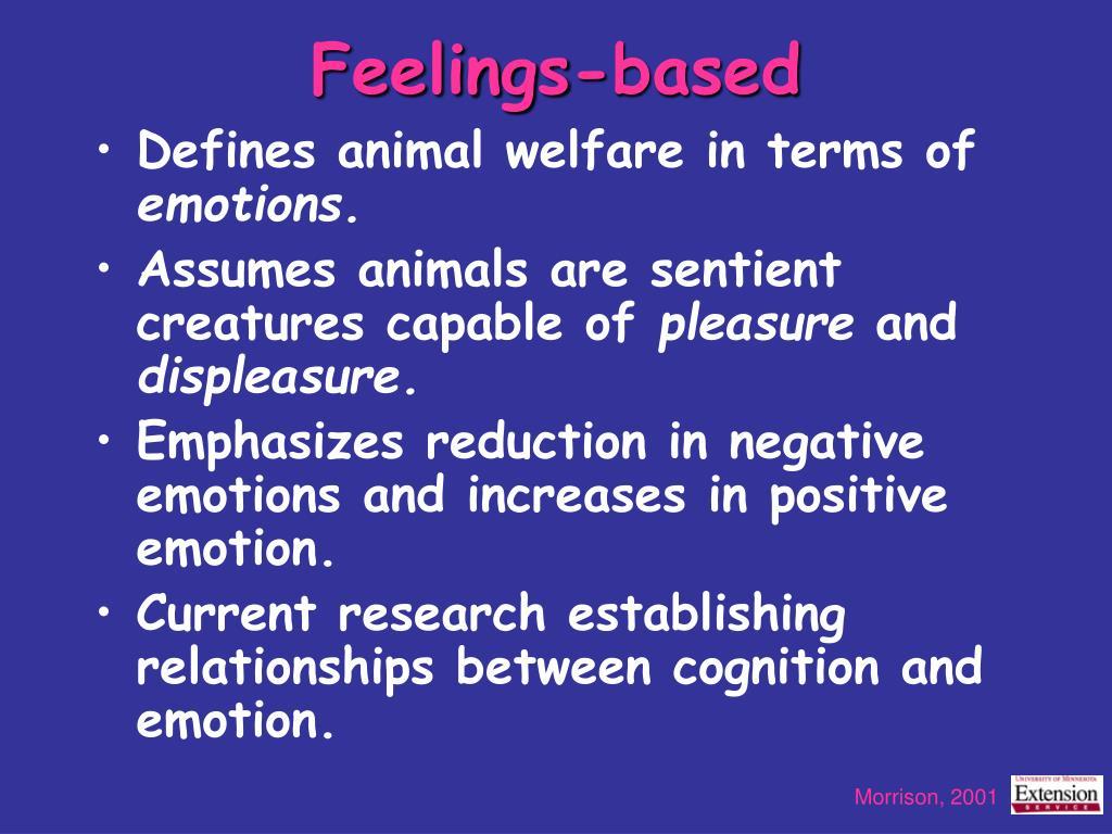 Feelings-based