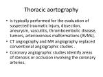 thoracic aortography