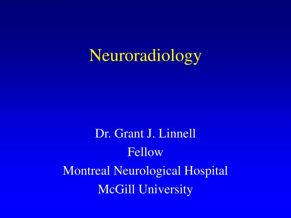 neuroradiology l.