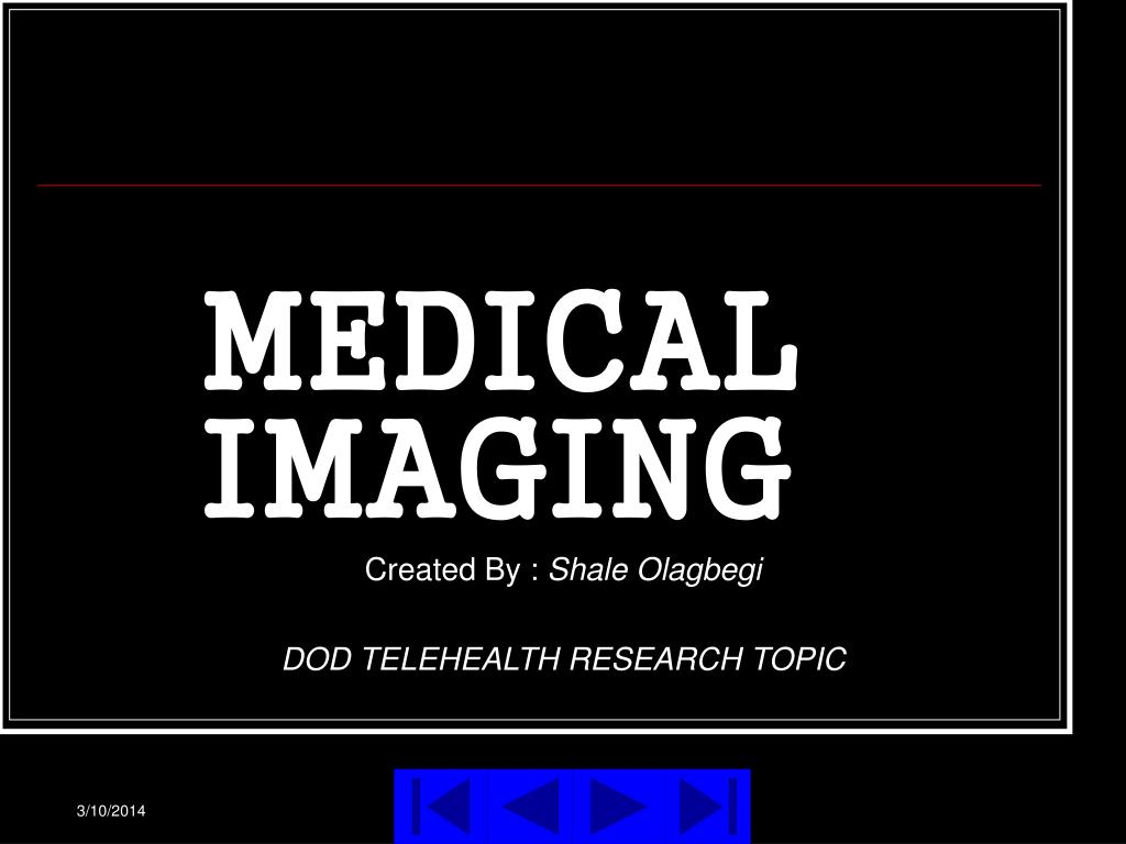 medical imaging l.