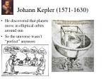 johann kepler 1571 1630